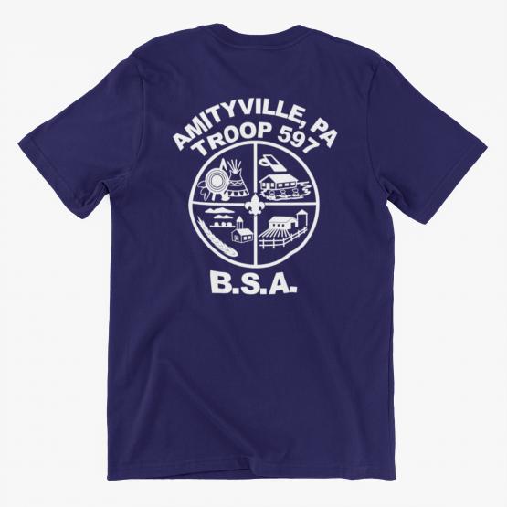 Troop 597 Class B Dri Fit T-Shirt - Youth