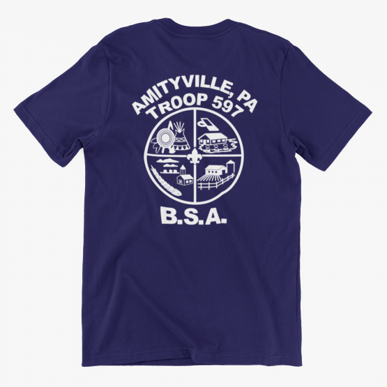 Troop 597 Class B Dri Fit T-Shirt - Adult