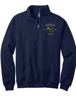 Troop 597 Fleece 1/4 Zip with Embroidered Logo